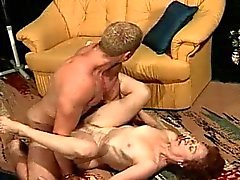 Granny Gets A Stud Ready With A Blowjob