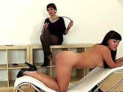 Lady Sonia spanking hot slut