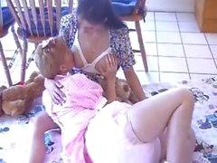 Breastfeeding - Adult baby girl