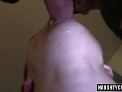 Big dick sexo anal gay com facial