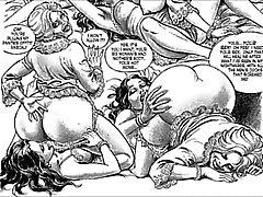 sarjakuva seksiä