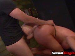 Milf slut il BDSM inveito