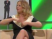 Barbarassa Schoeneberger Kaunis irrotettiin hartsista Legs