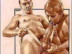 Винтаж Male Эротика