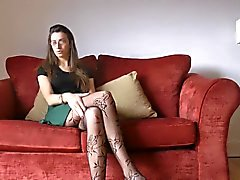 Antonia Modelle in diesen Zufalls Strumpfhosen China genannte Sexy
