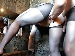 Adulto de Big Maduro gatito Kinky Fisting