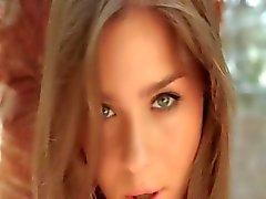 Kijk naar haar schattige ogen