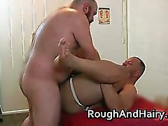 Two gay guys barely can hold themselves