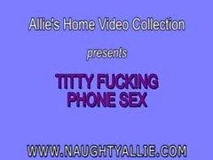 titty fuck on phone