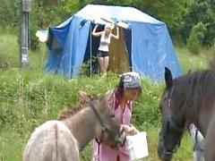 Camping e fodendo
