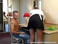 Italienska Anal fru moglie Inculata