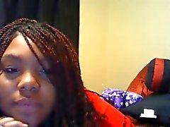 amerikansk svart tjej