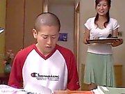 Japanese mom Risa Sakamoto and Step Son 2 (MrBonham)