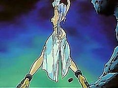 Band upp hentai gullig prinsar ta monster kranen i fittan