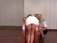 Caning Little Caprice