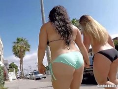 Plaj Thongs Voyeur HD Video