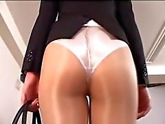Kohara Izumi pantyhosed Walking On Treadmill