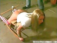 Harde kern sandm en brutale punishement