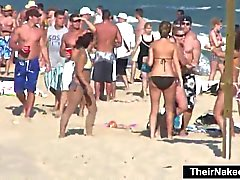 Spring Break på stranden är alltid kul