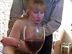 Sarhoş sarışın CamPlexor vererek oral seks yakaladı alır