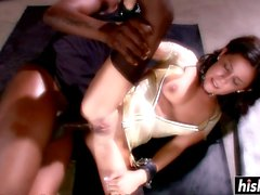Monster dick punishes a hot babe