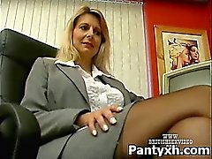 Impertinente do Sexy Hot In desagradáveis meia-calça XXX