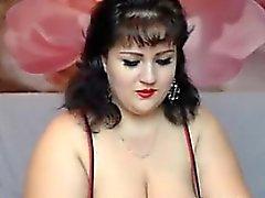 Geniş bir Web kamerası Woman Teasing