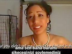турецкая Подрегион боль в анусе - Turkce altyazili ACI анальный