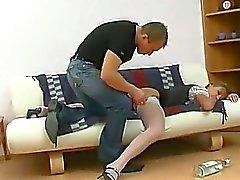 Ruso Bebé Slster rusas Cumshots trago