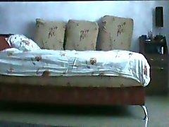 Registro Escort Amador Brunette vídeo uma Spycam durante o sexo