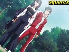 Adolescentes caliente cojan el bosque y cum hentai