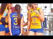 Voleibol chileno - Boston College vs Club Mortem