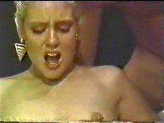 Vintage 80-х бисексуальные оргию