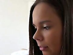Lehrer blowjob Bad und lockiges Haar teen ersten Mal Bri