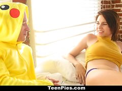 TeenPies - Step-Sister Creampied by Pikachu! PokemonGo