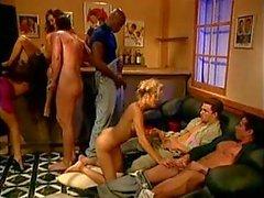 Klassiska orgie , vissa DP , bra Spermasprut .