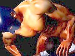 Sexual de del animado escoria de 3D de se clava