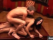 Kinky Vanessa iki adamla sikikleri