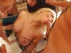 Ein blowbang mit Gina Lynn