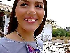 Halkla Çıplaklık de Valentina Nappi Cameltoe Pussy