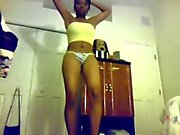 Youtube Twerker mzgorgeous023: Strippin naked 2