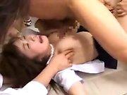 meninas japonesas selvagens cumprindo suas fantasias sexuais com