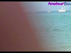 Nudist Amateur Voyeur Strand Nahaufnahme Video