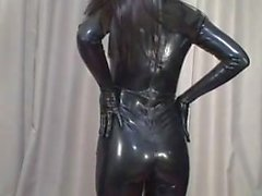 Catsuit in Japanes latex il 7