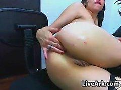 Latina giyiyor Seksi Fishnet çorap