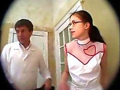Di formazione un'infermiera tre