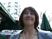 Den tyska Analys mogen kvinna gäller galet