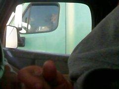 мигать водителем грузовика