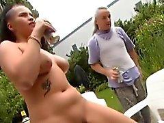 Mulher gordinha alemã precisa de anal profunda