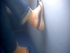 Foot Candid - MILF - de autobús - Fetichismo treinta y nueve